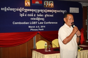 Village chief speaking at LGBT conference